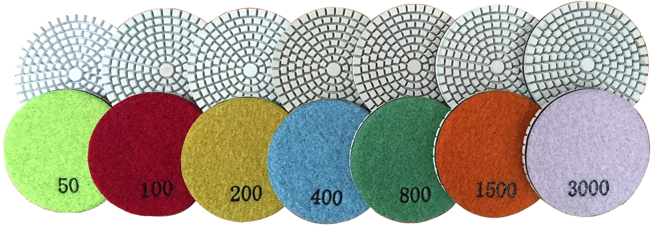 STI FL-07 concrete floor polishing pads, New hybrid Concrete Floor Polishing System