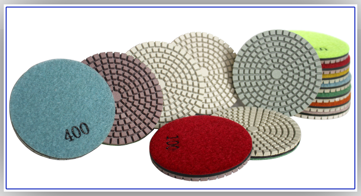 New hybrid Concrete Floor Polishing Pads